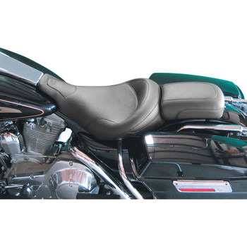 Mustang Vintage Solo Seat for 1997-2007 Harley FLHT/FLTR - Smooth
