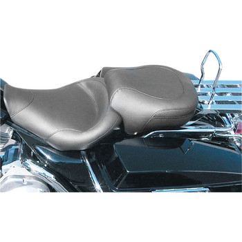 Mustang Vintage Solo Seat for 1997-2007 Harley FLHR/FLHX - Smooth