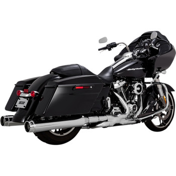 Vance & Hines Torquer 450 Slip-On Mufflers for 1995-2016 Harley Touring - Chrome