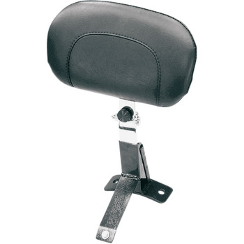 Mustang Driver Backrest Kit for 1997-2008 Harley FLHT/FLT - Smooth