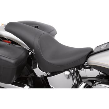 Drag Specialties Predator Seat for 2000-2017 Harley Softail FXST/FLST - Solar Reflective