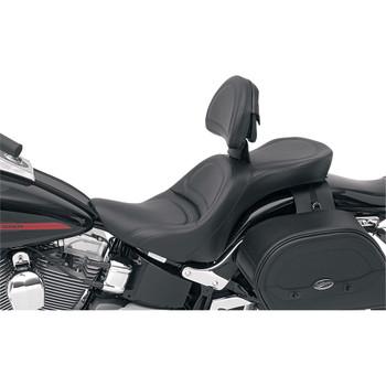 Saddlemen Explorer Seat for 2006-2017 Harley Softails* - FXST/FLSTF/B - Driver Backrest