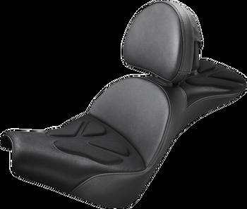 Saddlemen Explorer G-Tech Seat w/ Backrest for 2018-2020 Harley Softail - FXBB/FLDE