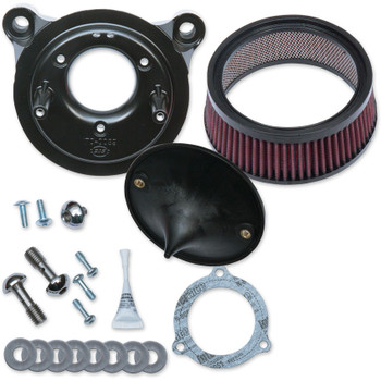 S&S Super Stock Stealth Air Cleaner Kit for 2008-2016 Harley Twin Cam Electronic Throttle