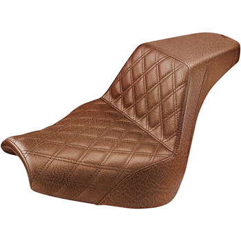 Saddlemen Front LS Step-Up Seat for 2018-2020 Harley Softail Breakout - Brown