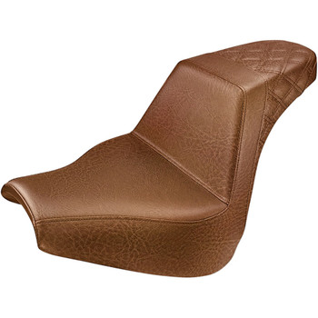 Saddlemen Rear LS Step-Up Seat for 2018-2020 Harley Softail Breakout - Brown