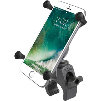 RAM Tough-Claw Mount kit with Universal X-Grip Phone Cradle - Large Size