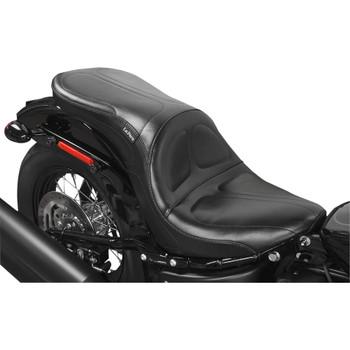LePera Maverick Seat for 2018-2020 Harley Softail FLDE/FLHC - Stitch