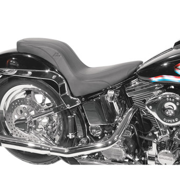 Mustang Daytripper Seat for 2006-2017 Harley Softail FXST/FLSTF - Vintage
