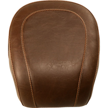 Mustang Brown Wide Tripper Rear Seat for 2018-2020 Harley FXBB - Vintage