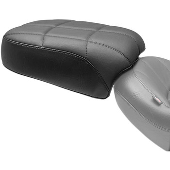 Mustang Rear Touring Seat for 2018-2020 Harley Softail Street Bob FXBB - Cube Stitch