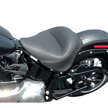 Mustang Wide Solo Seat for 2011-2017 Harley Softail FXS/FLS - Vintage