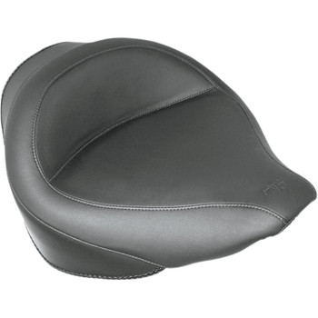 Mustang Wide Solo Seat for 2006-2017 Harley Softail FXST/FLST - Vintage