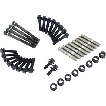 Feuling 12-Point ARP Internal Engine Fastener Kit for Harley 2017-2020 Harley M8 - Black