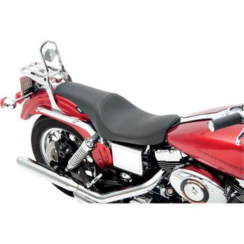 Drag Specialties Solar Reflective Predator Seat for 1996-2003 Harley Dyna - Smooth
