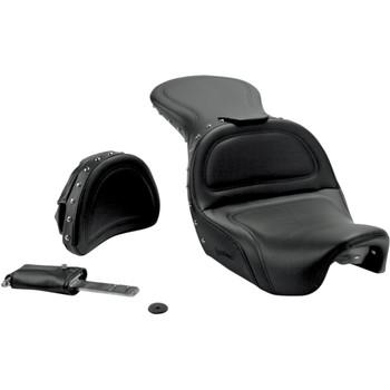Saddlemen Explorer Special Seat with Driver Backrest for 2006-2017 Harley Dyna