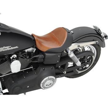 Saddlemen Renegade Lariat Solo Seat w/ Backrest Option for 2006-2017 Harley Dyna