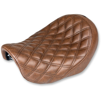 Saddlemen Renegade LS Solo Seat for 2004-2005 Harley Dyna - Brown