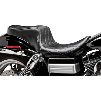 LePera Cherokee Seat for 1996-2003 Harley Dyna Wide Glide - Diamond