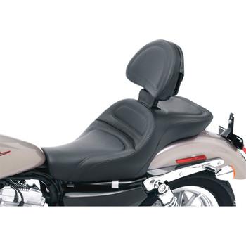 Saddlemen Explorer Seat w/ Backrest for 2004-2020 Harley Sportster - 4.5 Gal. Tank