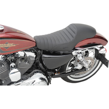 Saddlemen Americano Cafe Seat for 1986-2003 Harley Sportster - Pleated