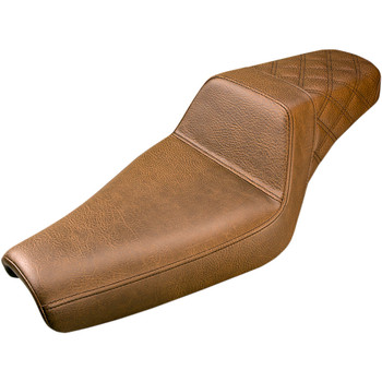 Saddlemen Rear LS Step Up Seat for 2004-2020 Harley Sportster - Brown