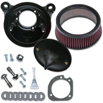 S&S Super Stock Stealth Air Cleaner Kit for 2001-2017 Harley Twin Cam Delphi EFI