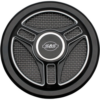 S&S Stealth Air Cleaner Cover - Tri-Spoke