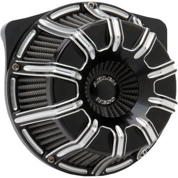 Arlen Ness 10-Gauge Inverted Air Cleaner for 1999-2017 Harley Twin Cam* - Black