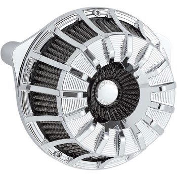Arlen Ness 15-Spoke Inverted Air Cleaner for 1999-2017 Harley Twin Cam* - Chrome