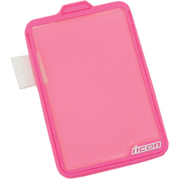 Icon Pink Replacement Badge Holder for Women's Vest