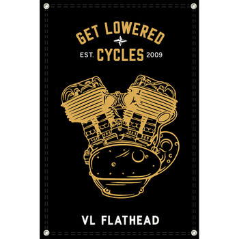 Get Lowered Cycles Harley VL Flathead Shop Banner