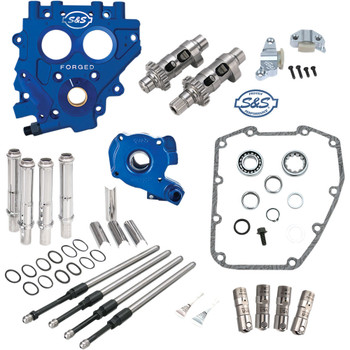 S&S 585 EZ Start Chain-Drive Camchest Kit for 1999-2006 Harley Twin Cam