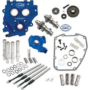 S&S 510 Gear-Drive Camchest Kit for 2007-2017 Harley Twin Cam