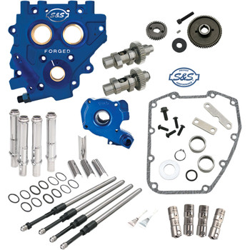 S&S 585 EZ Start Gear-Drive Camchest Kit for 2007-2017 Harley Twin Cam