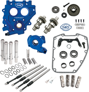 S&S 509 Gear-Drive Camchest Kit for 1999-2006 Harley Twin Cam