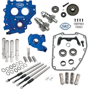S&S 585 EZ Start Gear-Drive Camchest Kit for 1999-2006 Harley Twin Cam