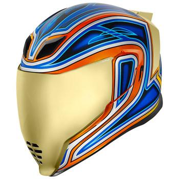 Icon Airflite Helmet - El Centro Blue