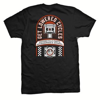 Get Lowered Piston Shop T-Shirt