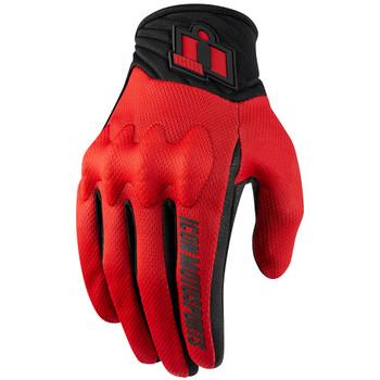 Icon Anthem 2 CE Gloves - Red