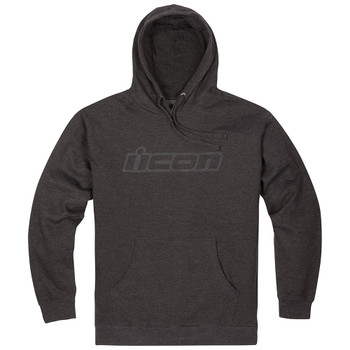Icon Clasicon Pullover Hoody - Grey