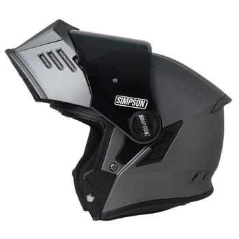 Simpson Mod Bandit Helmet - Flat Alloy