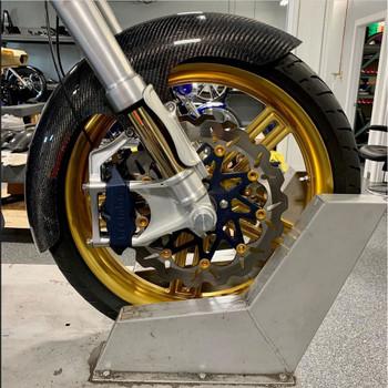Hofmann Designs Mid Length Carbon Fiber Bagger Front Fender for 2014-2020 Harley Touring
