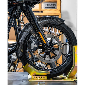 Hofmann Designs Mid Length Carbon Fiber Bagger Front Fender for 2014-2020 Harley Touring