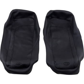 Mustang Saddlebag Lid Covers for 1993-2013 Harley Touring - Smooth