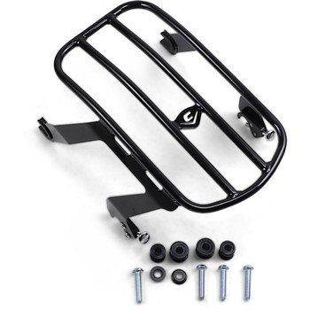 Cobra Detachable Solo Luggage Rack for 2018-2020 Harley Softail Deluxe FLDE - Black