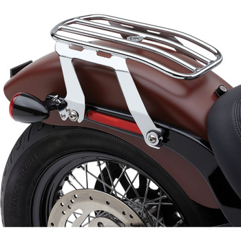 Cobra Detachable Solo Luggage Rack for 2018-2020 Harley Softail FLSL/FXBB - Chrome
