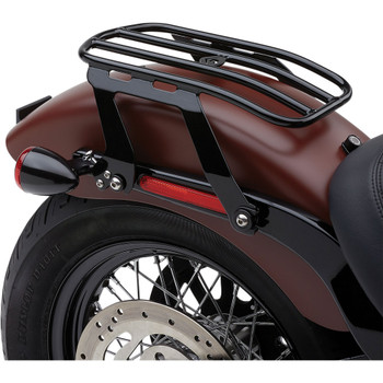 Cobra Detachable Solo Luggage Rack for 2018-2020 Harley Softail FLSL/FXBB - Black