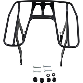 Cobra BA Wraparound Detachable Solo Luggage Rack for 2018-2020 Harley Softail FXBB/FLSL - Black