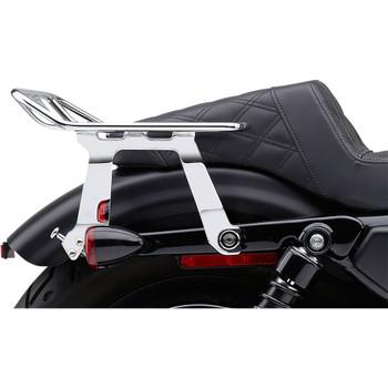 Cobra BA Wraparound Detachable Solo Luggage Rack for 2004-2020 Harley Sportster - Chrome